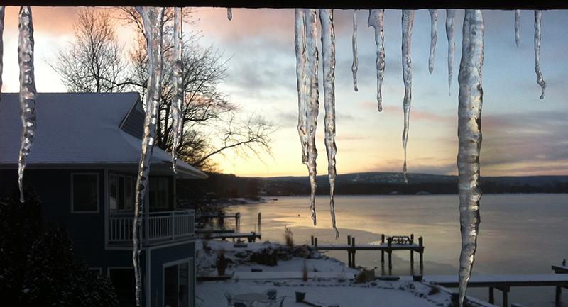RaCo Life Ithaca Lake Cayuga Winter 2012