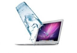Throwback: Uh Oh…Drenched Macbook Air