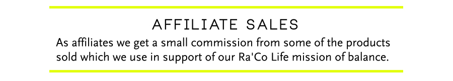 RaCo Life Affiliate Sales Disclaimer