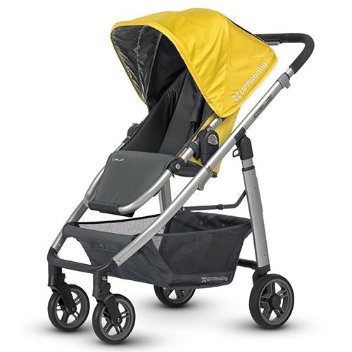 UPPABaby Cruz Stroller – Sydney (Yellow/Grey)