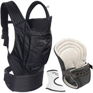 Onya Baby Outback Infant To Toddler Bundle – Jet Black