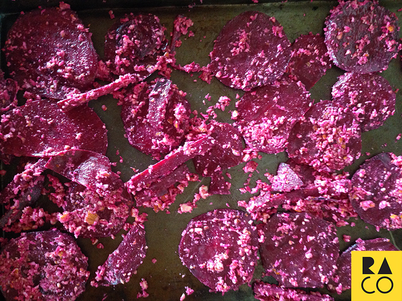 RaCo Life Beet Coconut Before Baking