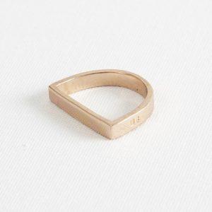 Darkroom Maya Magal's Runway D Ring Rose Gold