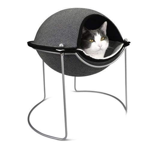 Hepper Herringbone Pod Cat Bed
