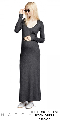 RaCo Life Maternity Hatch The Long Sleeve Body Dress