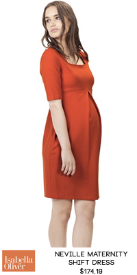 RaCo Life Maternity Isabella Oliver Neville Maternity Shift Dress