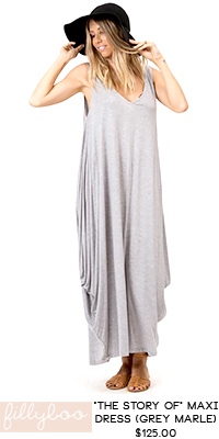 RaCo Life Maternity fillyboo The Story OF Maternity Maxi Dress (Grey Marle)