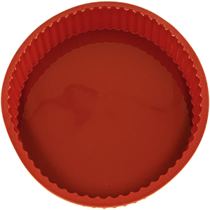Red Silicone Quiche