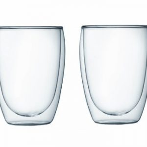 Bodum Pavina Double Wall Glass 12 Ounce Set Of 2 0