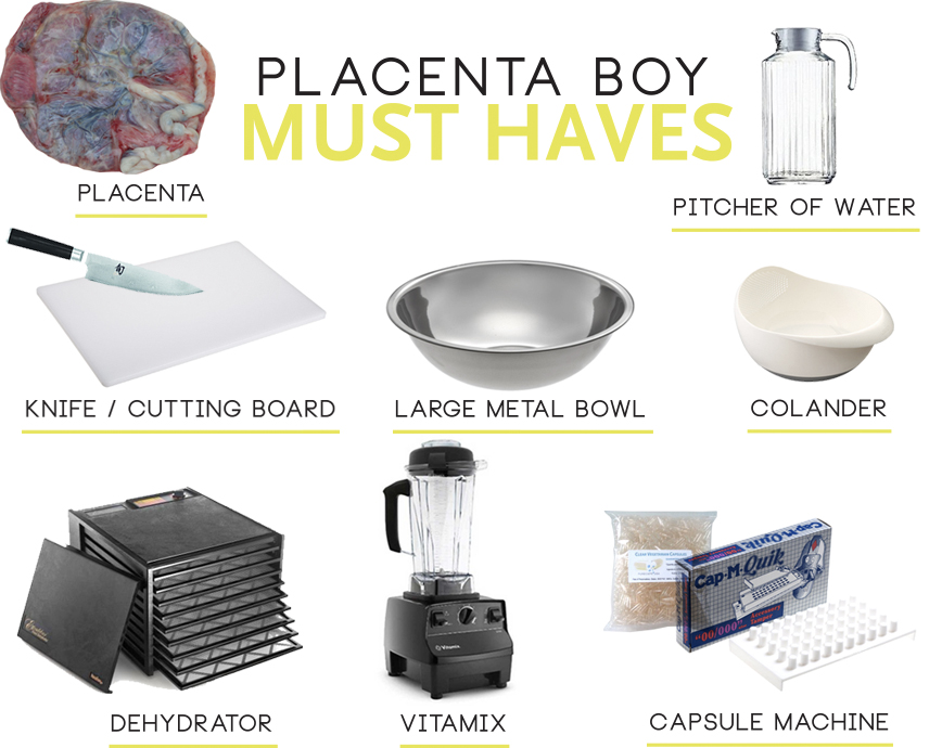 Placenta Boy Must Haves Post