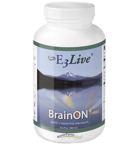 E-3 Live BrainOn (Frozen Liquid) – 6 Bottles, 16.2oz Each