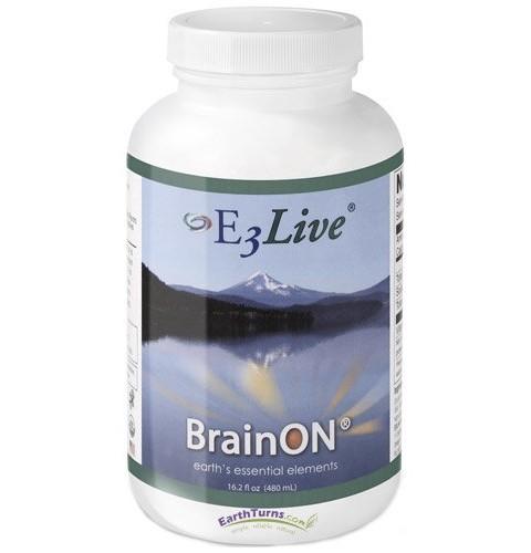 E-3 Live BrainOn (Frozen Liquid) – 6 Bottles, 16.2oz Each