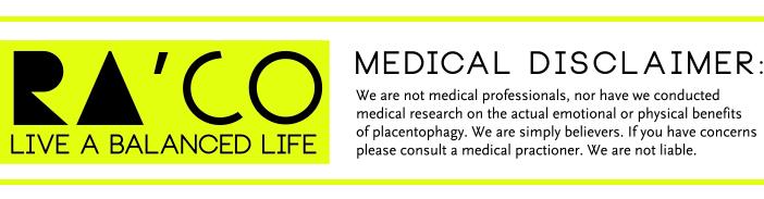 Ra'Co Life Medical Disclaimer