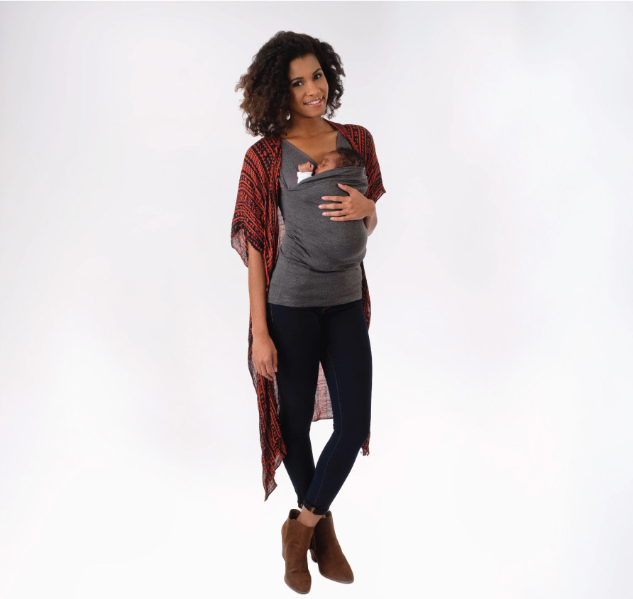 D Lalabu Soothe Shirt Simple Gray Layer With Your Fave Cardigan